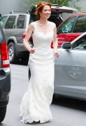 Ellie Kemper picture from her wedding day